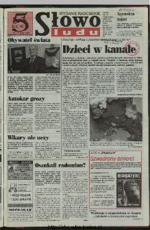Słowo Ludu 1997, XLVIII, nr 95 (radomskie)