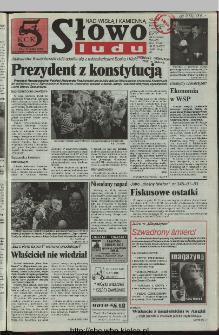 Słowo Ludu 1997, XLVIII, nr 95 (Nad Wisłą i Kamienną)