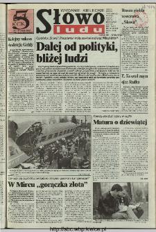 Słowo Ludu 1997, XLVIII, nr 102 (kieleckie W1)