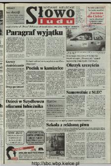 Słowo Ludu 1997, XLVIII, nr 109 (kieleckie W1)