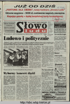 Słowo Ludu 1997, XLVIII, nr 113 (radomskie)