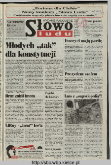 Słowo Ludu 1997, XLVIII, nr 115 (radomskie)