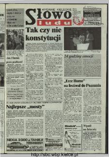 Słowo Ludu 1997, XLVIII, nr 119 (kieleckie W1)