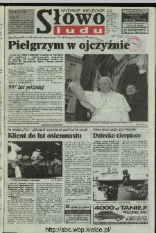 Słowo Ludu 1997, XLVIII, nr 124 (kieleckie W1)