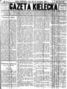 Gazeta Kielecka, 1898, R.29, nr 39