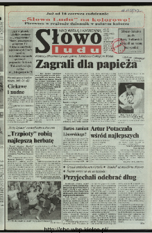 Słowo Ludu 1997, XLVIII, nr 131 (Nad Wisłą i Kamienną)