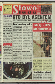 Słowo Ludu 1997, XLVIII, nr 138 (wydanie ABC)