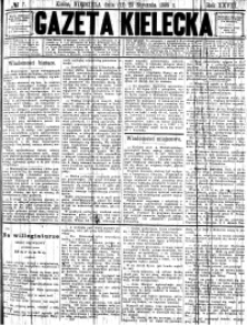 Gazeta Kielecka, 1898, R.29, nr 43