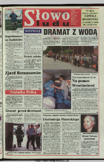 Słowo Ludu 1997, XLVIII, nr 162 (wydanie ABC)