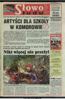 Słowo Ludu 1997, XLVIII, nr 181 (wydanie A)