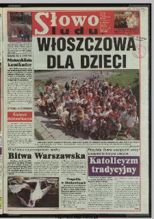 Słowo Ludu 1997, XLVIII, nr 185 (wydanie ABC)