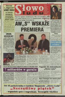 Słowo Ludu 1997, XLVIII, nr 226 (wydanie AB)