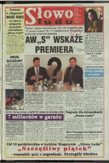 Słowo Ludu 1997, XLVIII, nr 226 (wydanie ABC)
