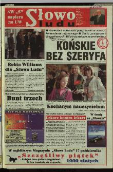 Słowo Ludu 1997, XLVIII, nr 238 (wydanie AB)
