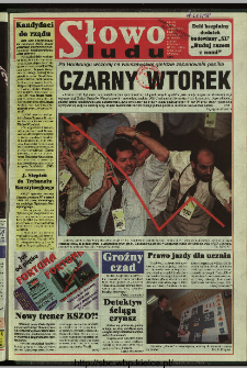 Słowo Ludu 1997, XLVIII, nr 251 (wydanie ABC)