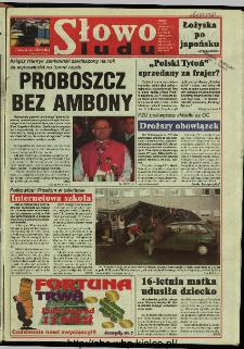 Słowo Ludu 1997, XLVIII, nr 255 (wydanie ABC)