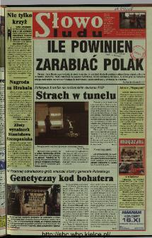 Słowo Ludu 1997, XLVIII, nr 262 (wydanie AB)