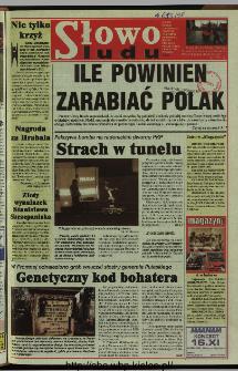 Słowo Ludu 1997, XLVIII, nr 262 (wydanie ABC)