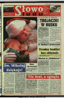 Słowo Ludu 1997, XLVIII, nr 282 (wydanie AB)