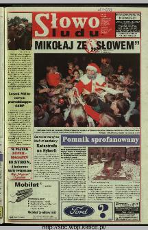 Słowo Ludu 1997, XLVIII, nr 283 (wydanie AB)
