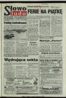 Słowo Ludu 1996, XLV, nr 36 (radomskie)
