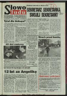 Słowo Ludu 1996, XLV, nr 45 (radomskie)