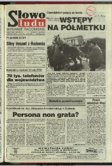 Słowo Ludu 1996, XLV, nr 49 (radomskie)