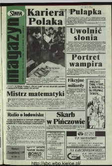Słowo Ludu 1996, XLV, nr 86 (magazyn)