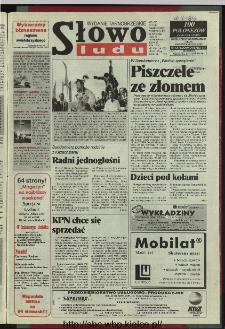 Słowo Ludu 1996, XLV, nr 100 (tarnobrzeskie)