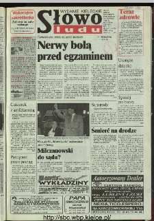 Słowo Ludu 1996, XLV, nr 144