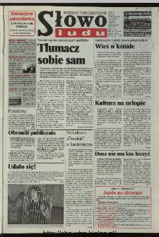 Słowo Ludu 1996, XLV, nr 153 (tarnobrzeskie)