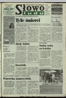 Słowo Ludu 1996, XLV, nr 167 (radomskie)