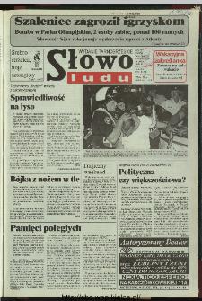 Słowo Ludu 1996, XLV, nr 174 (tarnobrzeskie)