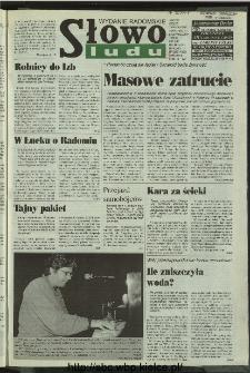 Słowo Ludu 1996, XLV, nr 226 (radomskie)