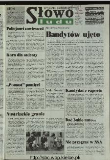 Słowo Ludu 1996, XLV, nr 244 (radomskie)
