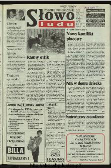 Słowo Ludu 1996, XLV, nr 257 (tarnobrzeskie)