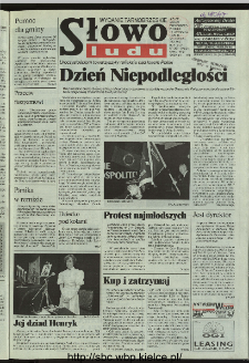 Słowo Ludu 1996, XLV, nr 261 (tarnobrzeskie)