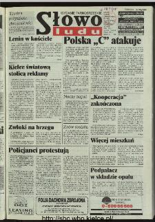 Słowo Ludu 1996, XLV, nr 262 (tarnobrzeskie)