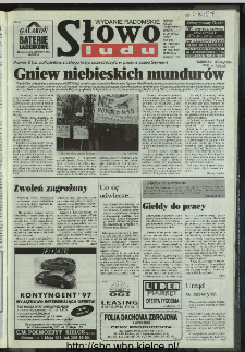 Słowo Ludu 1996, XLV, nr 274 (radomskie)