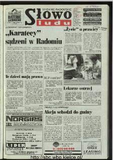 Słowo Ludu 1996, XLV, nr 280 (radomskie)