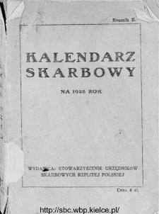 Kalendarz Skarbowy : na 1928 rok.
