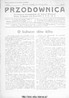 Przodownica : ilustrowany dwutygodnik dla kobiet wiejskich : organ Wydziału Kół Gospodyń C.T.O. i K.R 1930, nr 4