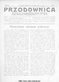 Przodownica : ilustrowany dwutygodnik dla kobiet wiejskich : organ Wydziału Kół Gospodyń C.T.O. i K.R 1931, nr 3