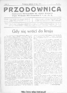 Przodownica : ilustrowany dwutygodnik dla kobiet wiejskich : organ Wydziału Kół Gospodyń C.T.O. i K.R 1931, nr 14