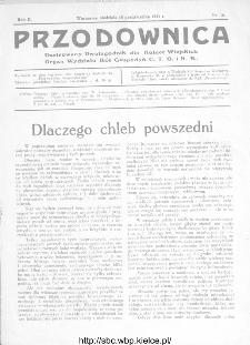 Przodownica : ilustrowany dwutygodnik dla kobiet wiejskich : organ Wydziału Kół Gospodyń C.T.O. i K.R 1931, nr 16