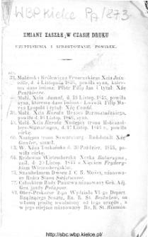 Kalendarzyk Polityczny na rok 1846 wydawany za upoważnieniem Rządu przez Fr. Radziszewskiego
