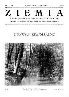 Ziemia : dwutygodnik krajoznawczy ilustrowany 1928, R.XIII, nr 13