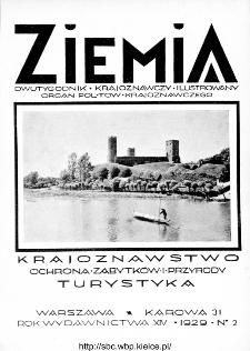 Ziemia : dwutygodnik krajoznawczy ilustrowany 1929, R.XIV, nr 2
