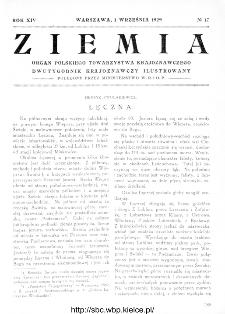 Ziemia : dwutygodnik krajoznawczy ilustrowany 1929, R.XIV, nr 17
