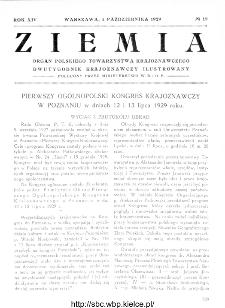 Ziemia : dwutygodnik krajoznawczy ilustrowany 1929, R.XIV, nr 19